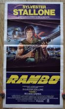 Rambo First Blood Film Poster Italian Locandina